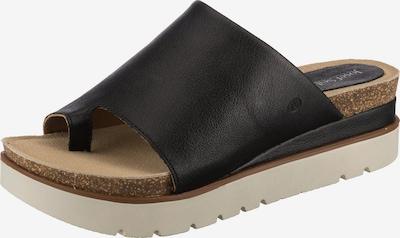 JOSEF SEIBEL Komfort-Pantoletten in schwarz, Produktansicht