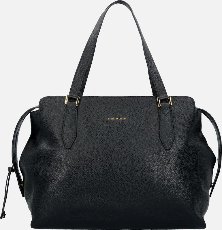 Caterina Lucchi Dollaro Shopper Tasche Leder 37 cm