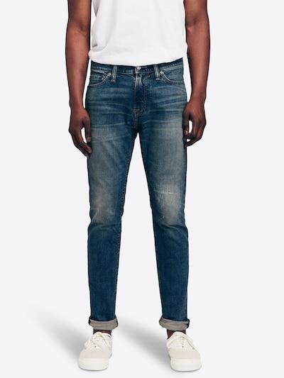 Jeans ' BTS19-SUPER SKINNY DK R&R 1CC ' Abercrombie & Fitch pe denim albastru: Privire frontală