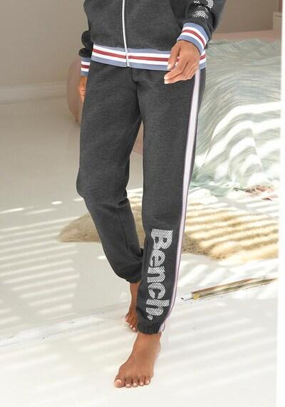 BENCH Sweatpants in graumeliert, Produktansicht