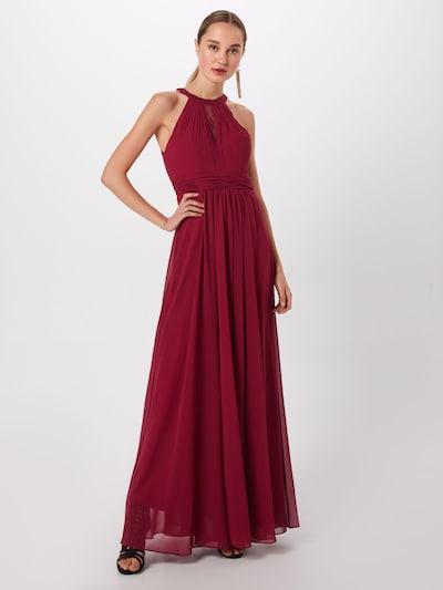 mascara Společenské šaty 'LACE INSET' - vínově červená, Model/ka