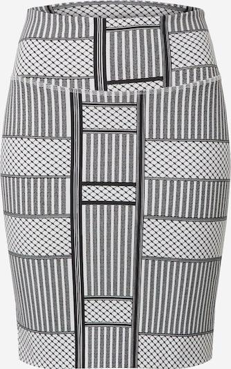Kaffe Sukně 'KAparris Penny Skirt' - světle šedá / černá / bílá, Produkt