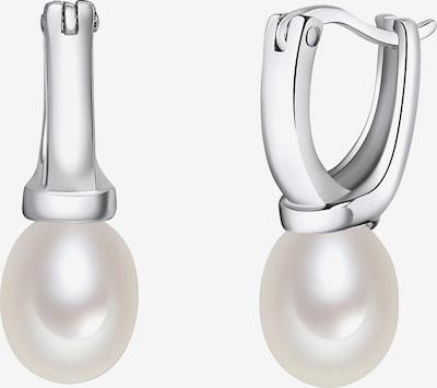 Valero Pearls Ohrhänger in silber / perlweiß, Produktansicht