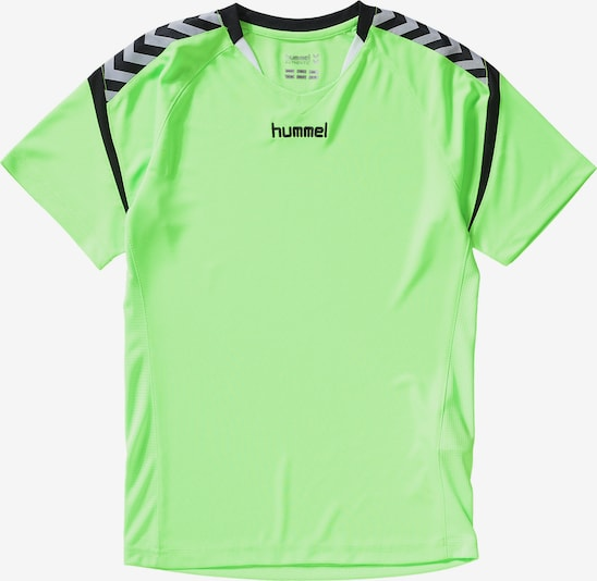 Hummel Kinder Sport Trikot AUTHENTIC in grün, Produktansicht
