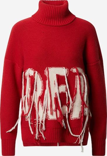 REPLAY Pullover in rot / weiß, Produktansicht
