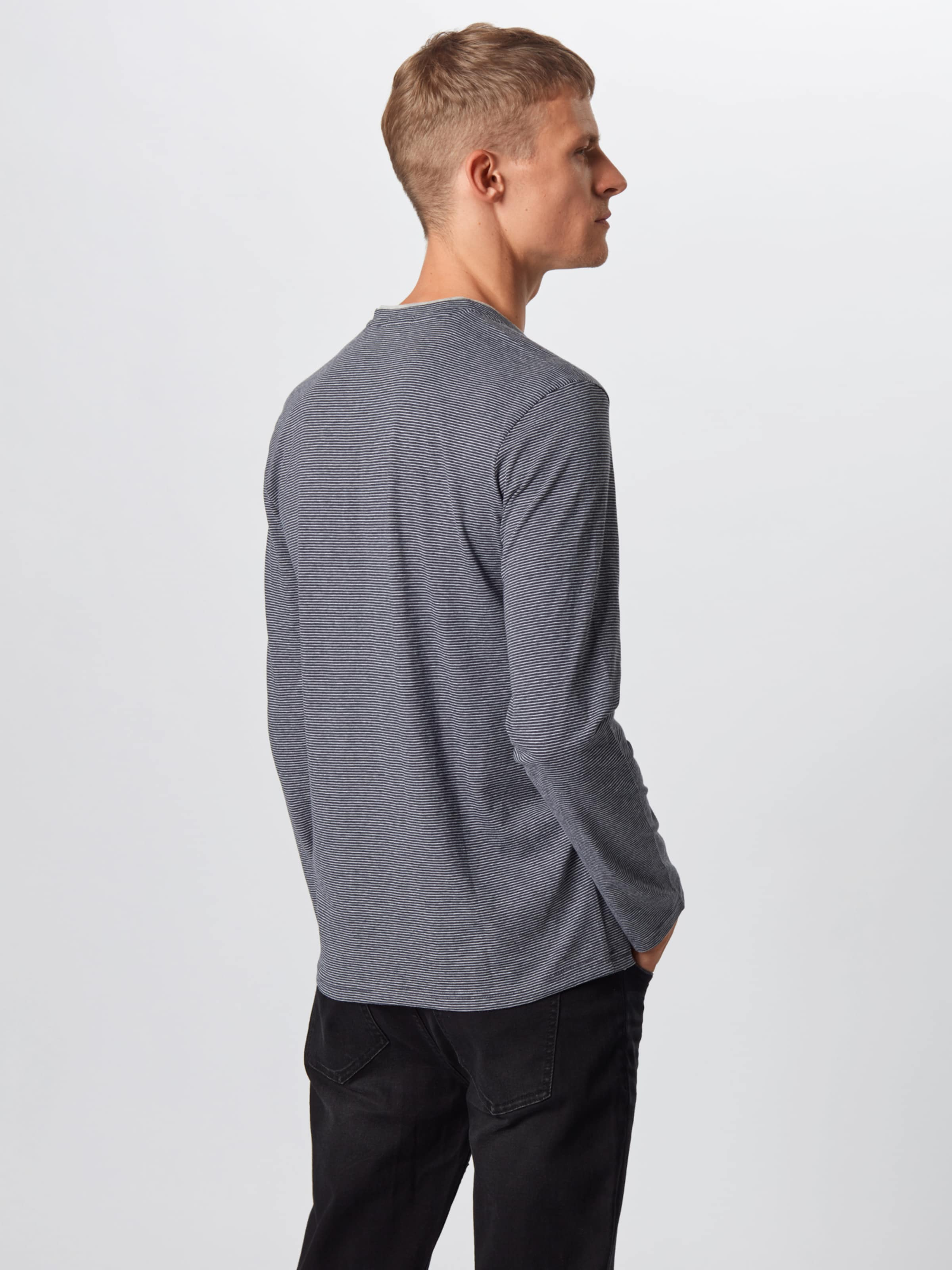 En Tailor T shirt Tom Gris BasalteBlanc lK1FJc