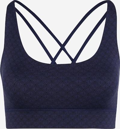 Hey Honey Sport-BH 'Criss-Cross' in dunkelblau / schwarz, Produktansicht