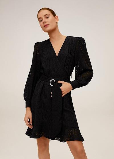 MANGO Kleid 'Lai' in schwarz, Modelansicht