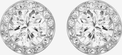 Swarovski Ohrstecker 'Angelic' in silber / weiß, Produktansicht