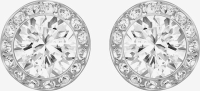 Swarovski Uhani 'Angelic' | srebrna / bela barva, Prikaz izdelka