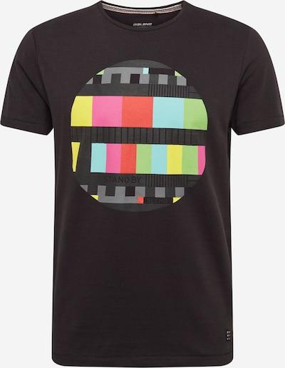BLEND Shirt in de kleur Gemengde kleuren / Zwart, Productweergave