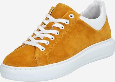 Bianco Sneakers laag 'Dava' in de kleur Donkergeel / Wit, Productweergave