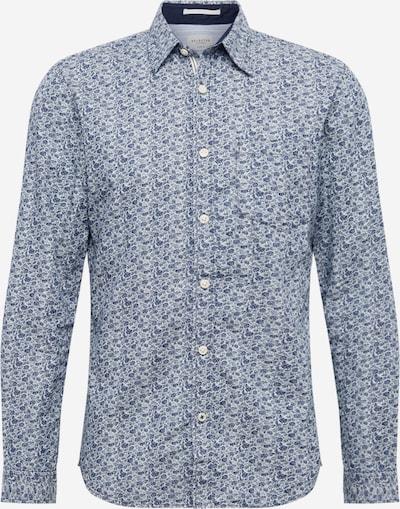 SELECTED HOMME Košulja 'Tyler' u tamno plava / bijela, Pregled proizvoda