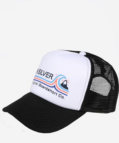 QUIKSILVER Cap in schwarz / weiß, Produktansicht