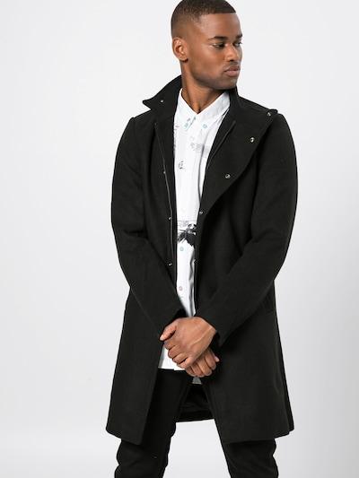 Palton de primăvară-toamnă 'onsOSCAR WOOL COAT' Only & Sons pe negru, Vizualizare model