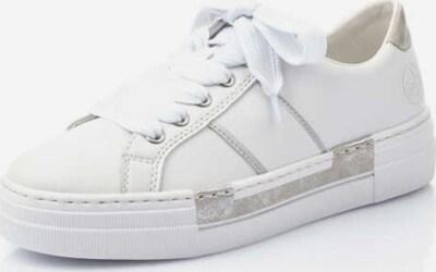 RIEKER Sneaker in silber / weiß, Produktansicht