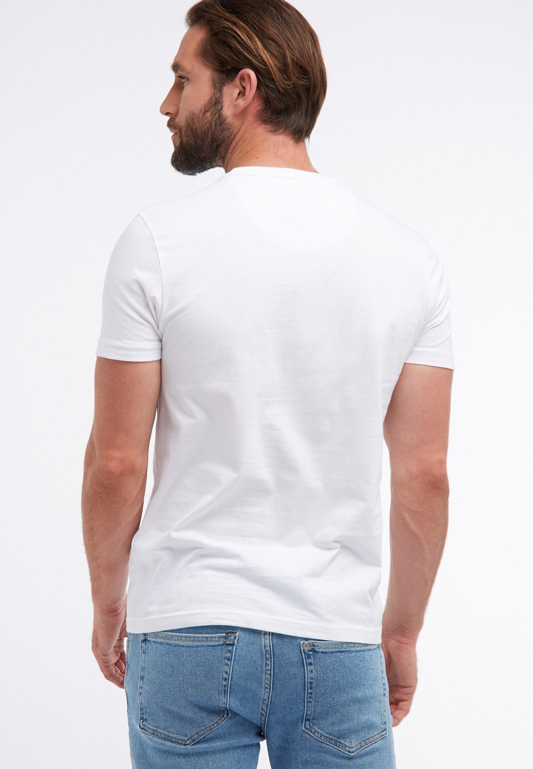 Industries shirt En Petrol FoncéBlanc T Bleu HWeEYD29I