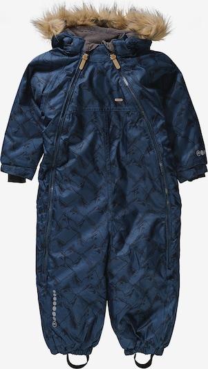 MINYMO Schneeanzug in dunkelblau / schwarz, Produktansicht