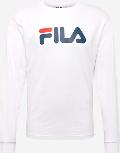 FILA Sweatshirt 'PURE' in de kleur Donkerblauw / Wit, Productweergave