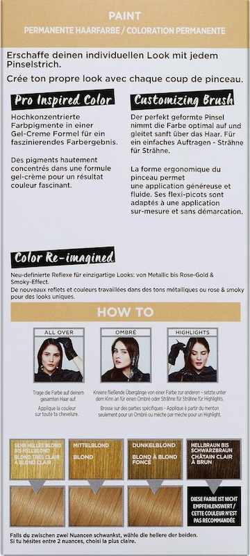 L'Oréal Paris 'Colovista Permanent Paint', Coloration