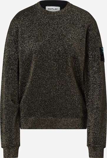 REPLAY Sweatshirt in khaki, Produktansicht