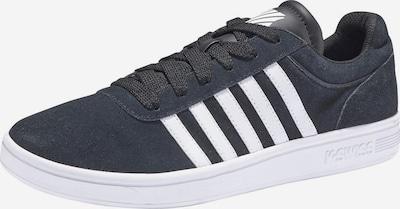 K-SWISS Sneaker 'Court Cheswick Suede' in schwarz, Produktansicht