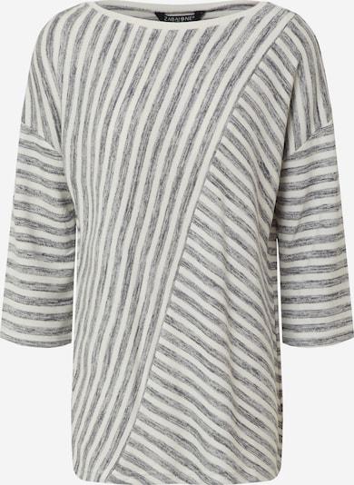ZABAIONE Pullover 'Ami' in dunkelblau / offwhite, Produktansicht