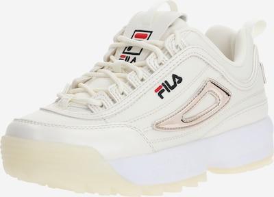 FILA Baskets basses en blanc cassé, Vue avec produit