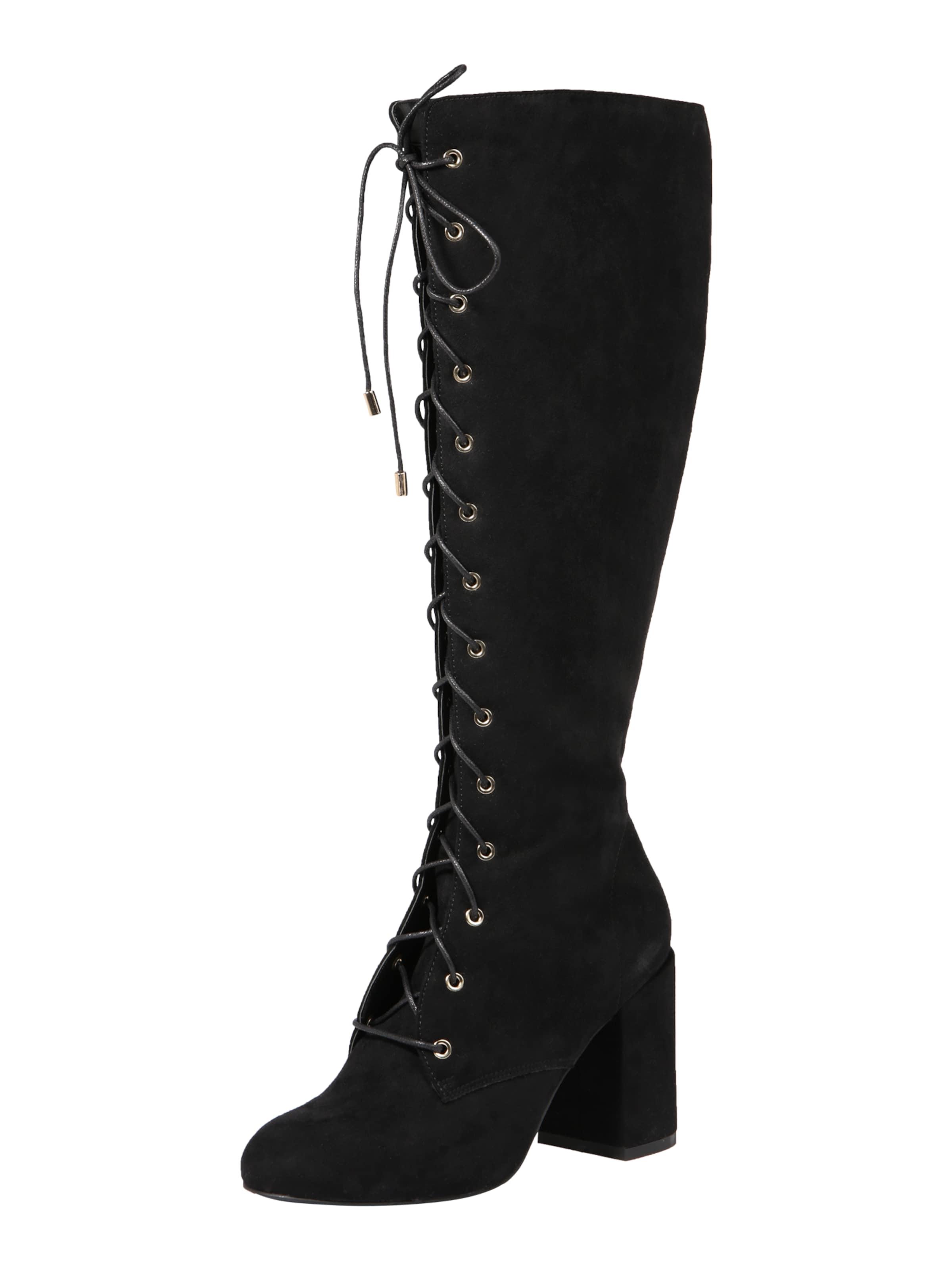 ABOUT YOU Stiefel 'Femke' in schwarz