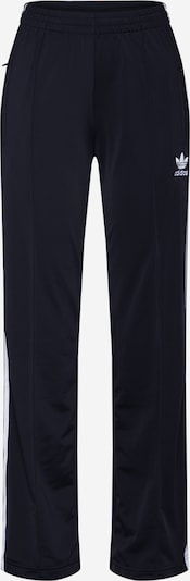 Pantaloni 'Firebird TP' ADIDAS ORIGINALS pe negru / alb, Vizualizare produs
