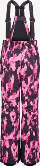 KILLTEC Skihose 'FLUMET' in pink / schwarz, Produktansicht