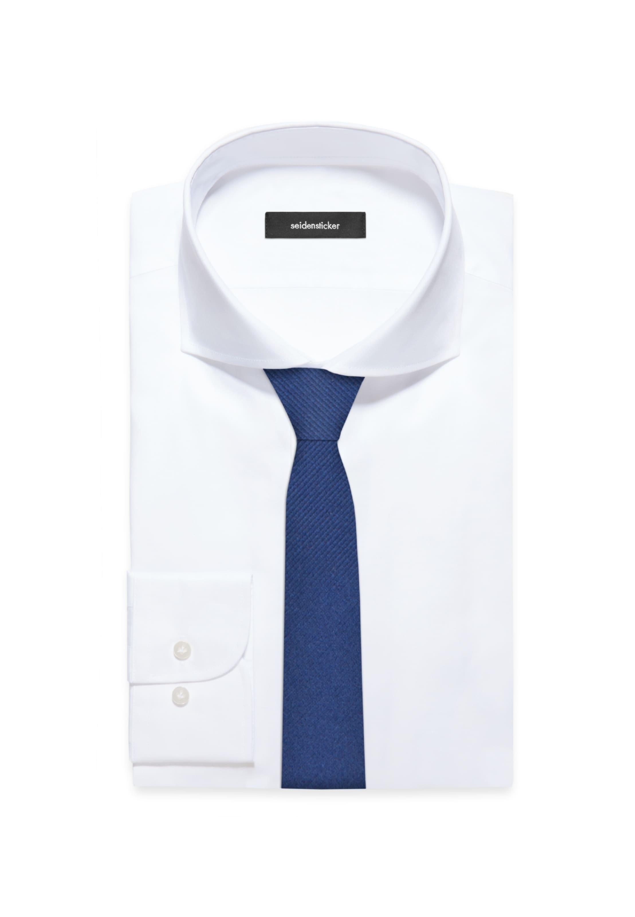 In Seidensticker 'slim' Blau Krawatte K13uFJTlc