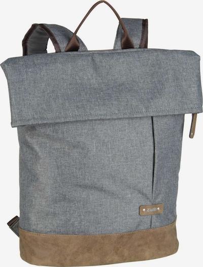 ZWEI Rucksack 'Olli' in braun / grau, Produktansicht