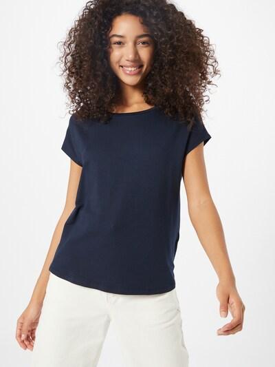 STREET ONE T-shirt en bleu foncé: Vue de face