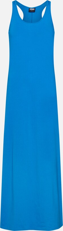 Urban 'ladies Robe Dress' Bleu Racer En Classics Back D'été Long rtCsdhQ