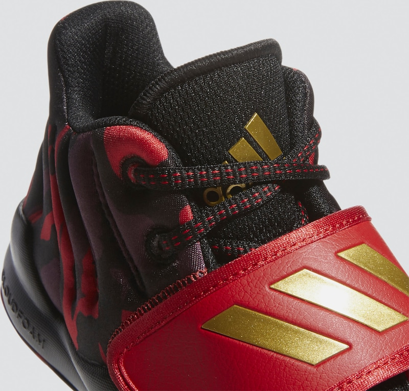 ADIDAS PERFORMANCE Schuhe 'Pro Spark 2.0' in rot schwarz
