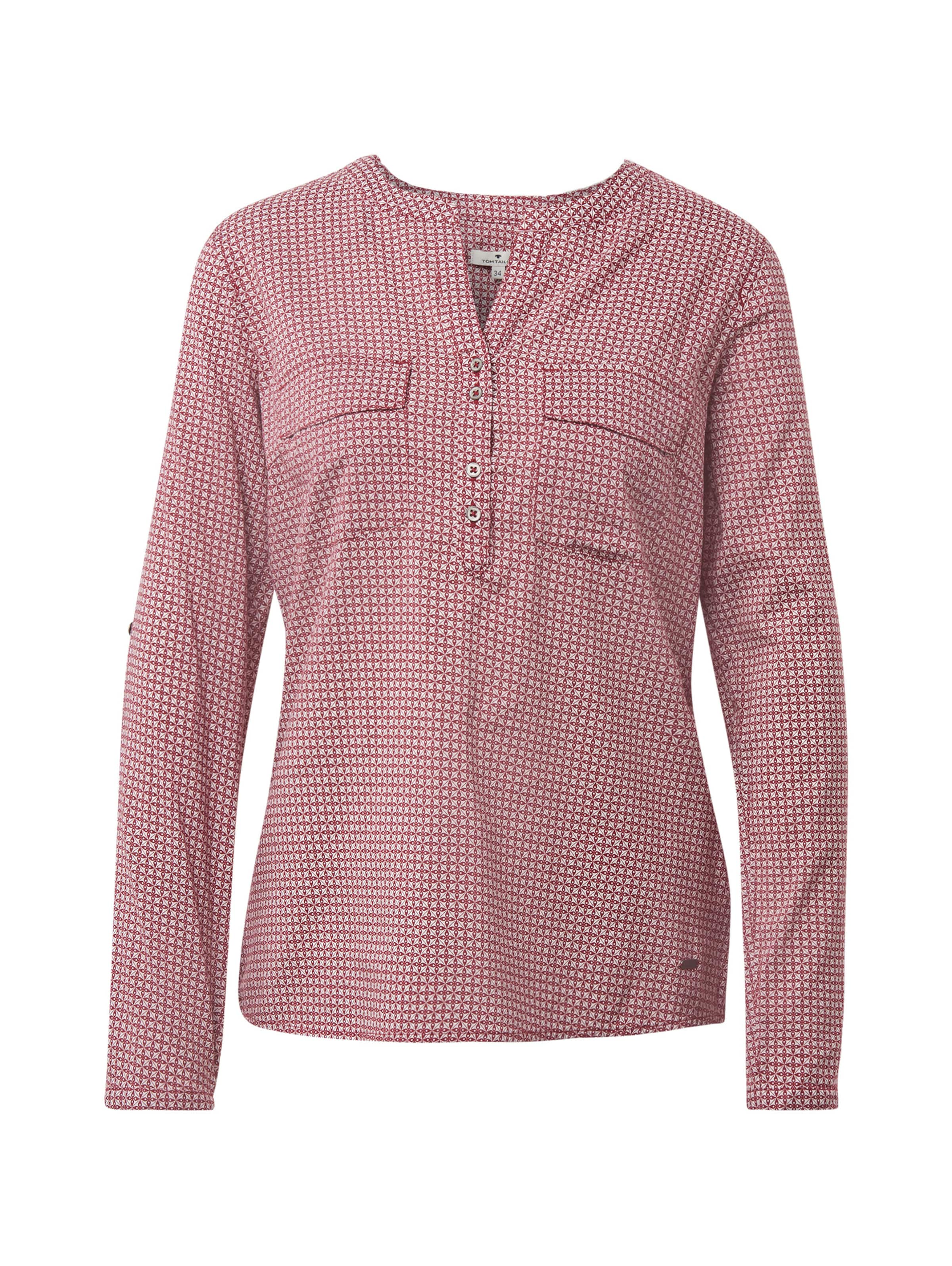 Bluse Tom In Tom Rot Tom Tailor Bluse In Rot Tailor pSMVUz
