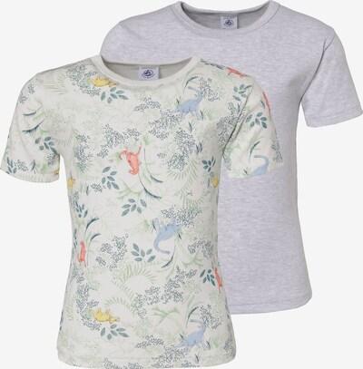 PETIT BATEAU Unterhemden Doppelpack in grau / mischfarben, Produktansicht