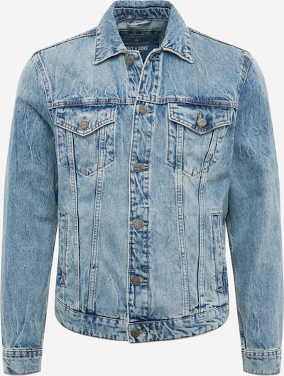 Only & Sons Jeansjacke in blue denim, Produktansicht