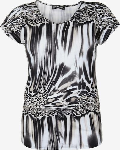 Doris Streich Shirt mit Allover-Print in schwarz / weiß, Produktansicht