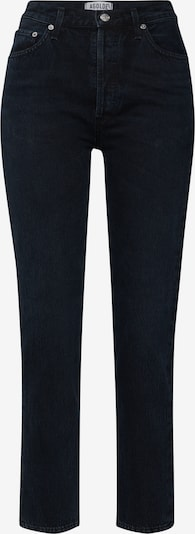 AGOLDE Jeans 'Remy High Rise Straight' in de kleur Zwart, Productweergave