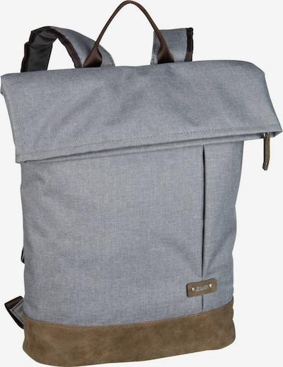 ZWEI Rucksack  'Olli ' in braun / grau, Produktansicht