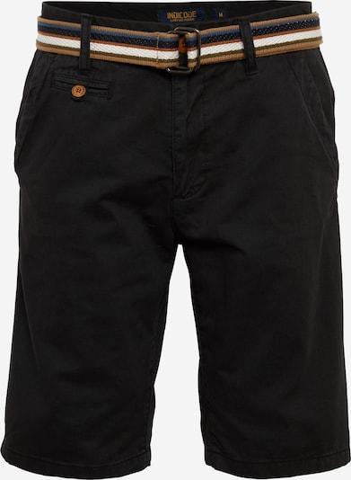 INDICODE JEANS Pantalon chino 'Royce' en noir, Vue avec produit