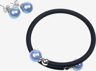 Orquidea Set 'Thaleia Med Blue' in blau / schwarz / silber, Produktansicht