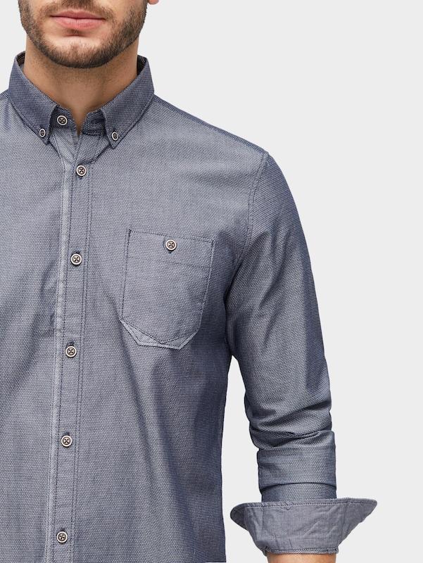 TOM TAILOR Gemustertes Hemd mit Brusttasche