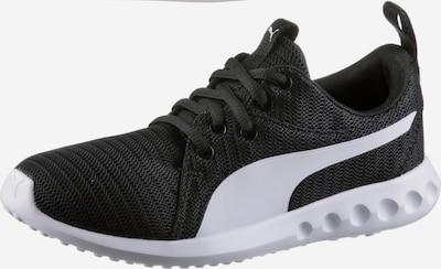 PUMA Sportschoen 'Carson 2 Jr' in de kleur Zwart / Wit, Productweergave