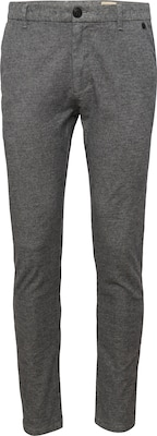 SELECTED HOMME Pantalon chino 'SHHARVAL SALT/PEPPER SLIM ST'
