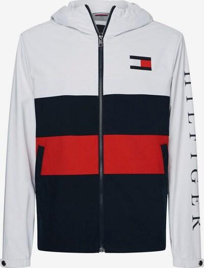 TOMMY HILFIGER TH Jacken in dunkelblau / rot / weiß, Produktansicht