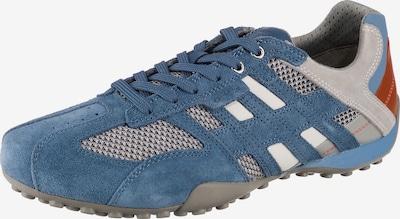 GEOX Sneaker 'Uomo Snake' in blau / rauchblau / karamell / hellgrau, Produktansicht