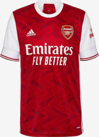 ADIDAS PERFORMANCE Fußballtrikot 'Arsenal London 20/21' in rot / weiß, Produktansicht